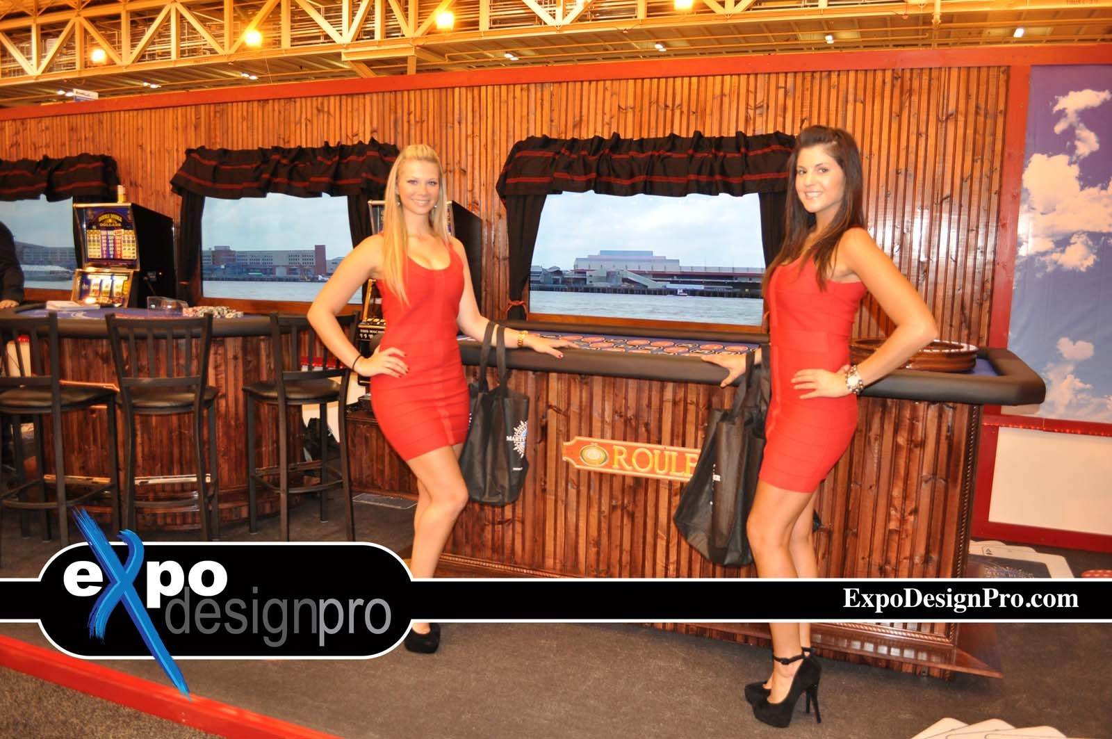 Do you need a river boat casino or casino theme for your next trade show booth? We can help.