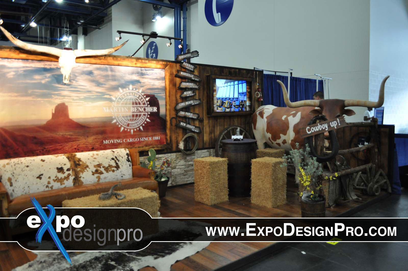 Do you need a country and western theme for you next trade show booth? Digiworld Media is here to help.
